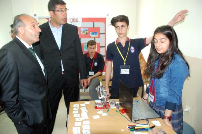Bitlisli Öğrencilerden Bilime ve Teknolojiye Katkı