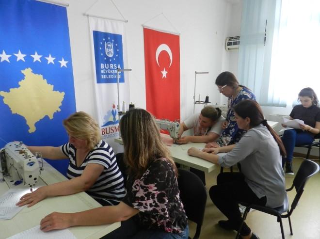 Busmek, Kosova'da İstihdam Kapısını Aralıyor