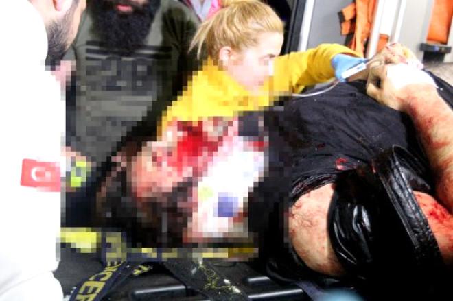 Fatih'te Trafik Kazası: 1 Ağır Yaralı