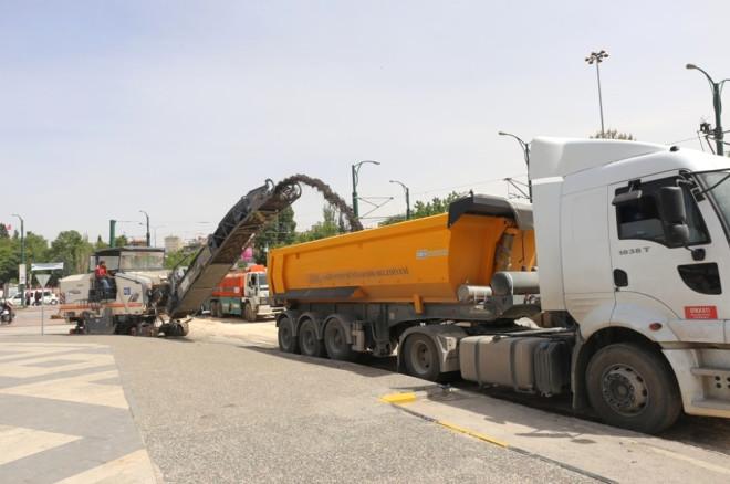 Gaziantep'te Modifiye Asfalt Dönemi Başladı