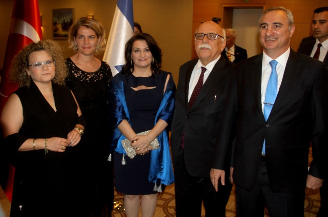 İsrail'in 69'uncu Kuruluş Yıl Dönümü Resepsiyonu