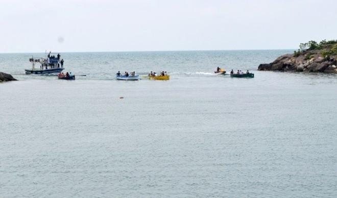 Karadeniz'de Kürek Yarışları Yapıldı
