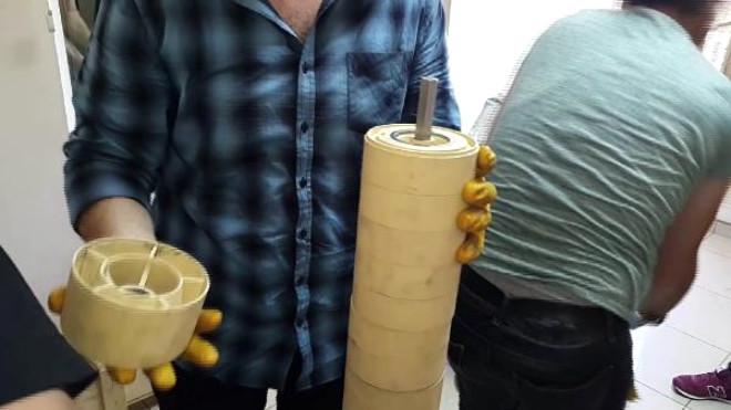 Kargoya Verilen Su Pompasından Uyuşturucu Hap Çıktı
