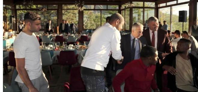 Kayserispor'a Teşekkür Yemeği