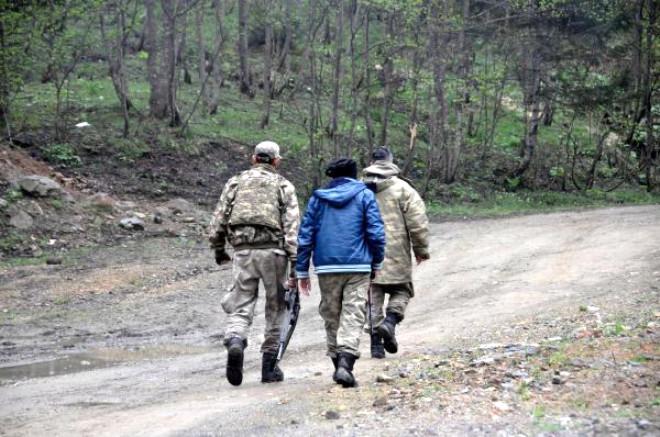 Maçka Kırsalında Operasyonlar Sürüyor - Fotoğraf
