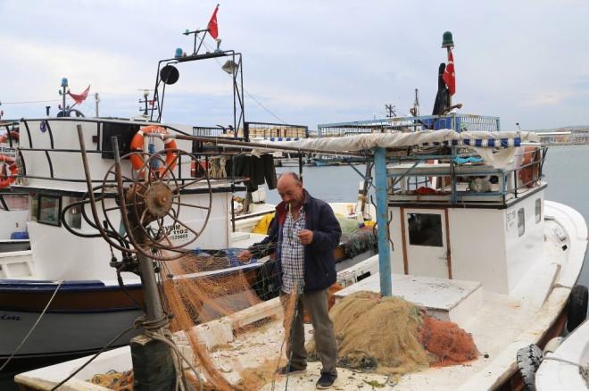 Marmara Denizi'nde Ulaşıma Poyraz Engeli