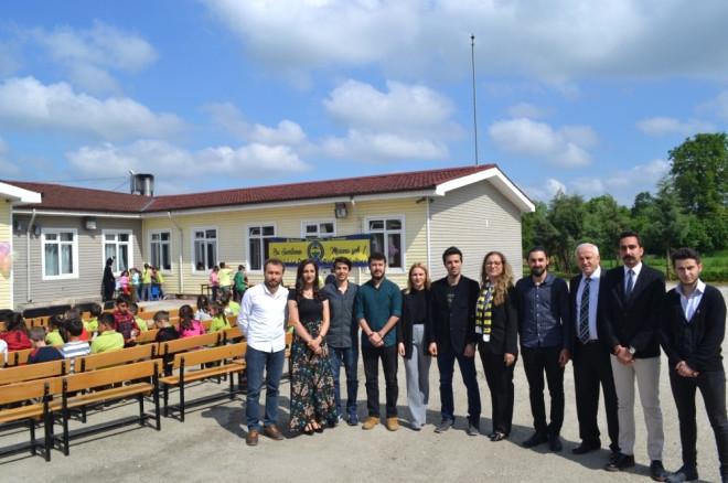 Rektör Çakar Paşaormanı İlkokulu Kütüphanesinin Açılışına Katıldı