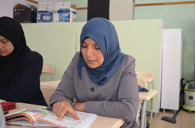 Suriyeli Arapça Öğretmeni Türkçe Öğreniyor