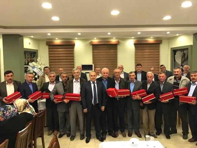 Taşköprü Belediyesi, Emekli Olan Personeline Yemek Programı Düzenledi