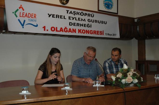 Taşköprü'de Yerel Eylem Grubu 1. Olağan Kongresi Yapıldı
