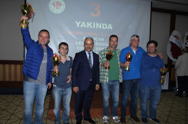 Türkiye Yaz Briç Şampiyonaları Kuşadası'nda Yapıldı