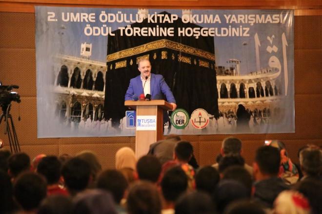 Tuşba'da 2. Umre Ödüllü Kitap Okuma Yarışması