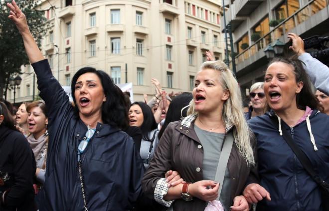 Yunanistan'da Kemer Sıkma Reformları Halkı Sokağa Döktü