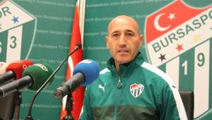 Bursaspor Teknik Direktörü Örnek: Antalyaspor Maçını Kazanmak İstiyoruz