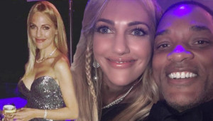 Meryem Uzerli Cannes Film Festivali'nde Will Smith'le Selfie Çekti