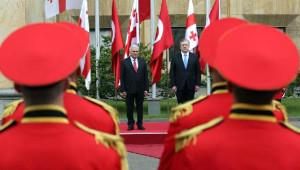 Başbakan Yıldırım Gürcistan'da Mevkidaşı Kvirikaşvili ile Görüştü