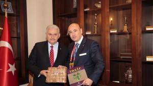 Ayto Başkanı Ülken'den Başbakan Binali Yıldırım'a Aydın İnciri