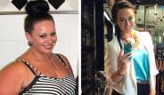 120 Kiloluk Avustralyalı Kate, Kilo Verip Fenomen Oldu!