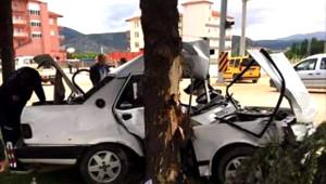 Korkuteli'de Trafik Kazası 1 Ölü