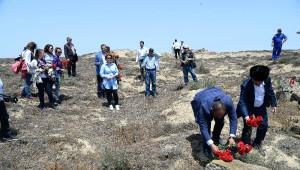 Nargin Adası'ndaki Şehitler Unutulmadı