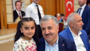 Bakan Arslan ve Tüfenkci Malatya'da İftara Katıldı