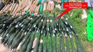 Kato'da 719 Muhtelif Silah, 363 Bin 148 Mühimmat Ele Geçirildi