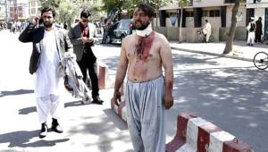 Afganistan'ın Başkenti Kana Bulandı! Olay Yerinden Korkunç Kareler