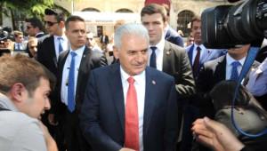 Başbakan Yıldırım, Teravih Sonrası Ev Ziyaretinde Bulundu