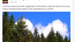 Vali Balkanlıoğlu'nun Sosyal Medyada Ordu'yu Tanıtım Atağı