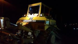 Belediye'ye Ait İş Makinesi Kundaklandı