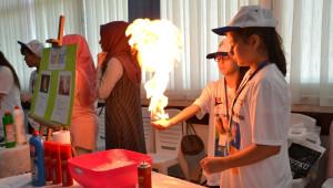 Saruhanlı'da Tübitak Bilim Fuarı Açıldı