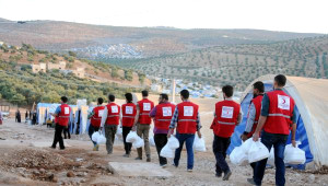 Suriye'ye 7 Yılda 40 Bin Tır Yardım Gönderildi