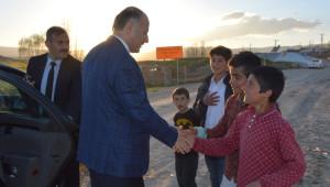 Vali Azizoğlu, Tekman İlçesini Ziyaret Etti