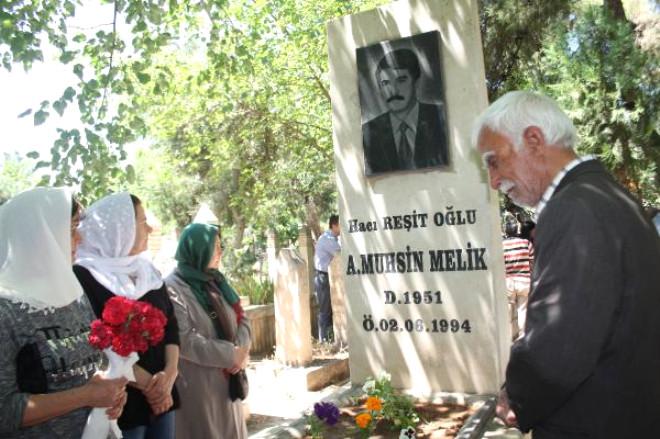 Dep'li Muhsin Melik ve Şoförü Mezarı Başında Anıldı