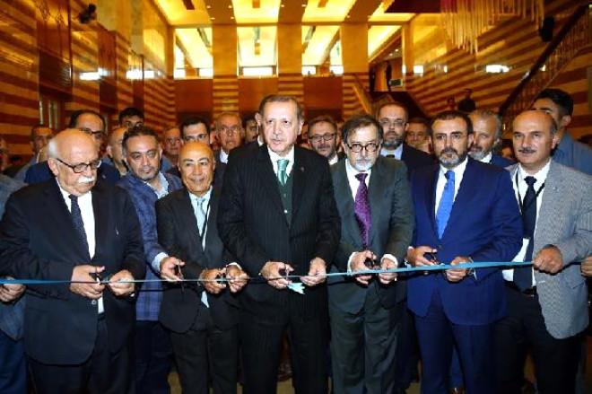 Fotoğraflar//cumhurbaşkanı Erdoğan Uluslararası Hilye-i Şerif Yarışması Ödül Töreni'nde