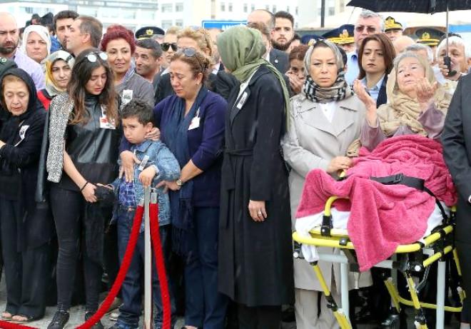 Helikopter Şehidi Albay Küçükdemirkol, Ankara'da Son Yolculuğuna Uğurlandı (2) - (Yeniden)