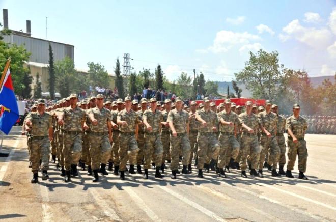 Jandarma Ulaştırma Eğitim Tabur Komutanlığında Görevli Acemi Erler Yemin Etti