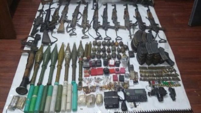 Malatya Öldürülen Teröristin Cephaneliği Ele Geçirildi