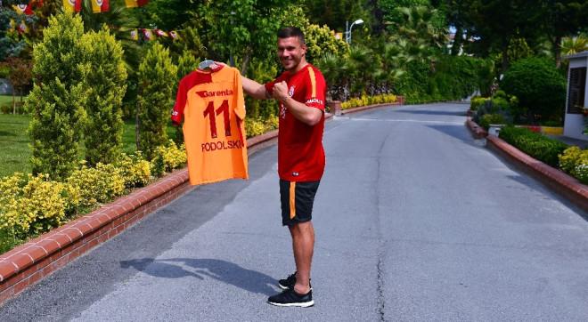 Podolski: 'Kalbim Hep Galatasaray'da Kalacak'