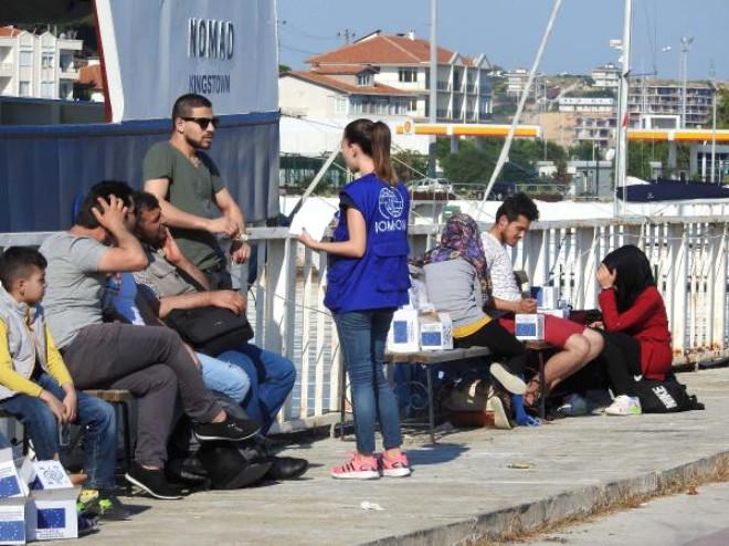 Sahil Güvenlik'ten Kaçak Göçmen ve Kaçak Balık Avı Operasyonu