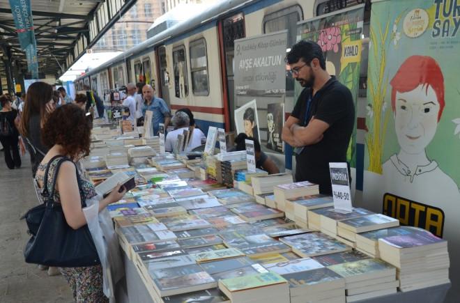 9'uncu Kadıköy Kitap Günleri Haydarpaşa Garı'nda Başladı