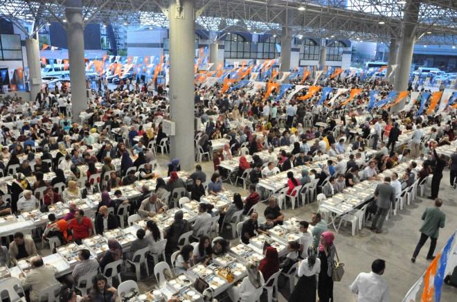 AK Parti Gebze İlçe Teşkilatından 2 Bin Kişilik İftar