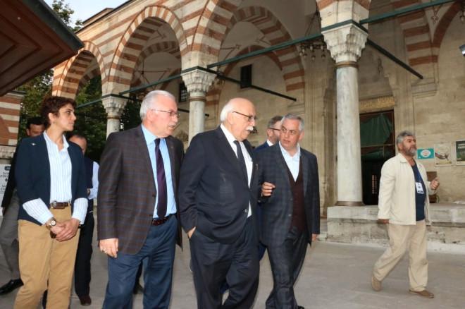 Bakan Nabi Avcı'dan, Başkan Aydın'a Tebrik