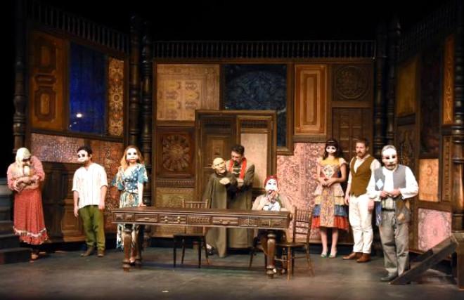 Bezirgan', Vanlı Tiyatroseverlerle Buluştu