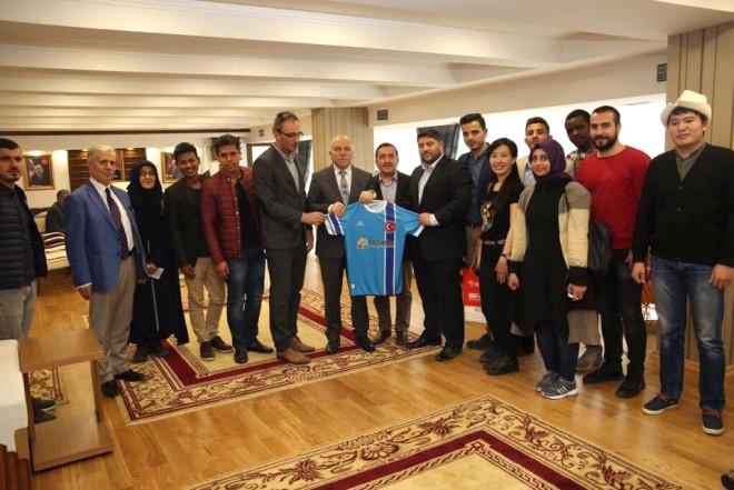 Erulder'den Başkan Sekmen'e Ziyaret