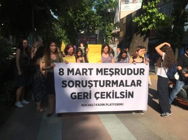 Eyleme Katılan Kadın Memura Verilen Cezaya Tepki