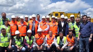 Bakü-Tiflis-Kars Demiryolunun Türkiye Ayağı Haziranda Tamamlanıyor