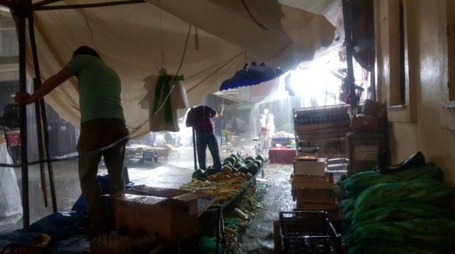 Bursa'yı Sel ve Fırtına Vurdu