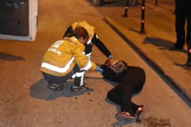 Erkek Arkadaşı Tarafından Dövülen Kadın Yol Ortasında Baygın Bulundu