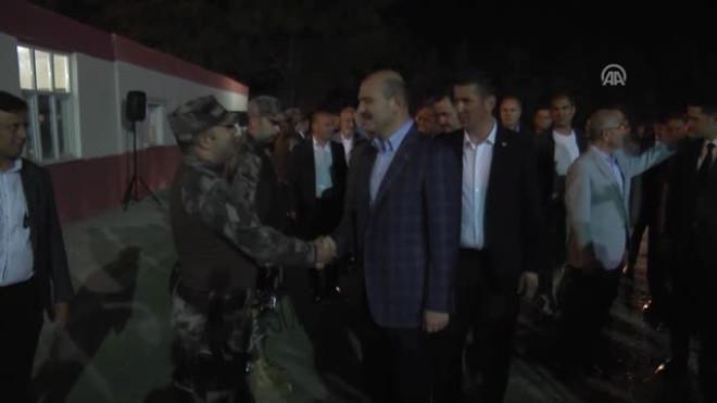 Içişleri Bakanı Soylu, Çevik Kuvvet ve Özel Harekat Şube Müdürlüğü Personeliyle Bir Araya Geldi